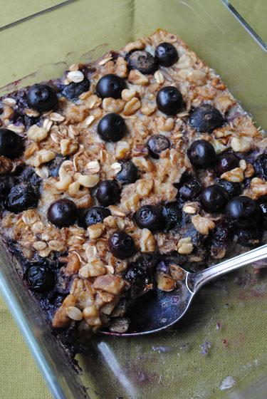 BlueberryBakedOatmeal